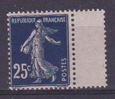 Timbre Type Semeuse N° 140b** Bord De Feuille - France