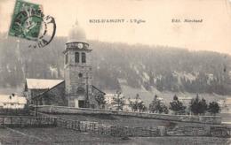 Bois D'Amont Canton Morez église - France