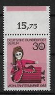 Berlin  324 ** Farbrand - Berlin (West)