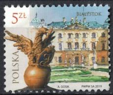 Pologne 2019 Oblitéré Used Palais Ville De Białystok SU - Used Stamps