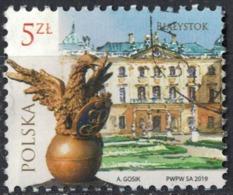 Pologne 2019 Oblitéré Rond Used Palais Ville De Białystok SU - Used Stamps