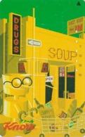 Télécarte Japon / 110-011 - Pub  KNORR AJINOMOTO - Soupe - Soup Drugs - Food Advertising Japan Phonecard - Alimentazioni
