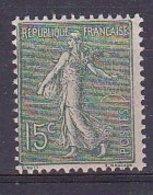 Timbre Type Semeuse Lignée De Roty N° 130** - France