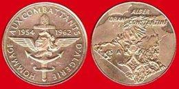 ** MEDAILLE  SAHARA - COMBATTANTS  D' ALGERIE  1954 - 1962 ** - Non Classificati