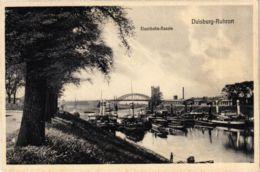 CPA AK Duisburg- Ruhrort- Eisenbahn Bassin GERMANY (901095) - Duisburg