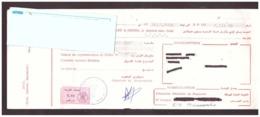 Maroc. Timbres Fiscaux De Quittance De 0.05 Et 0.10 Dirhams Sur 2 Billets à Ordre. 2 Traites 2000 Et 2002. - Maroc (1956-...)
