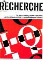 La Recherche N° 126 -  Octobre 1981 (TBE+) - Sciences