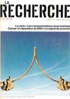 La Recherche N° 124 -  Juillet-août 1981 (TBE+) - Sciences