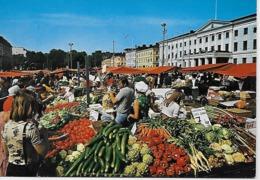 Finland - Helsinki Helsingfors  Salutorget - Market Place. - Märkte