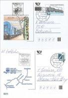 CDV 44 Czech Republic End Of The Train Post 1999 - Trains
