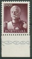 Portugal 1945 Präsident Carmona 687 Postfrisch, Einzelmarke Aus Block 8 - 1910-... República
