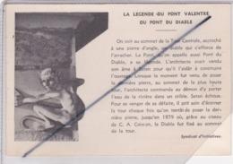 Cahors (46) Le Pont Du Diable /La Légende Du Pont Valentré - Cahors