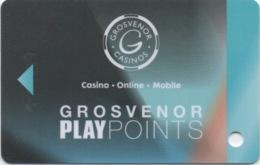 Carte De Casino : Grosvenor Casinos Play Points London Londres - Casino Cards
