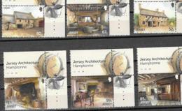 JERSEY, 2019, MNH,JERSEY ARCHITECTURE, SEPAC,6v - Architecture