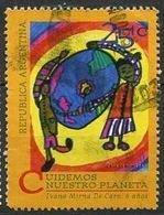 Argentine - Argentinien - Argentina 1994 Y&T N°1863 - Michel N°2225 (o) - 25c œuvre De I Mirna De Caro - Argentinien