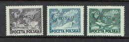 "POLAND...MNH...scarce ""Groszy"" Overprint...1950's - Unused Stamps"