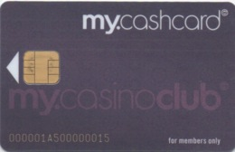Carte De Casino : My Cash Card Du Grand Casino Luzern Suisse (avec Puce) - Casino Cards
