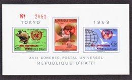 HAÏTI  XVI Congrés Postal De Universel BLOC N° 32 ** - Haïti