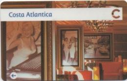 Carte De Croisière : Costa Atlantica 2015 - Autres Collections