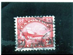 B - 1923 Stati Uniti .- Biplano DeHaviland - Used Stamps