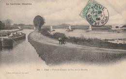 TOUL - Moselle - Halage - Ânes - Batellerie - Pont - Chemin De Fer - Toul