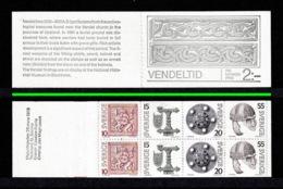SWEDEN 1975 Vendel Period/Vendeltid (Ordinary Paper): Stamp Booklet UM/MNH - Carnets