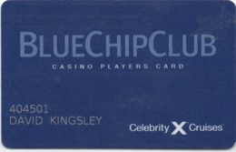 Carte De Casino Croisière : Blue Chip Club Sur Celebrity Cruises - Cartes De Casino