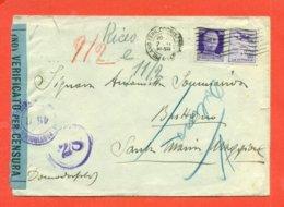 -STORIA POSTALE- PROPAGANDA DI GUERRA - USATO IN PERIODO RSI - CENSURE - 1900-44 Vittorio Emanuele III
