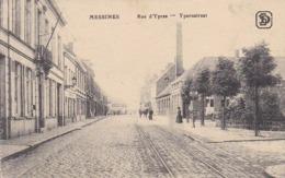 CPA Messines - Rue D'Ypres - Ypernstraat - Feldpost Fussartill. Batl. 56 - 1917 (43536) - Messines - Mesen