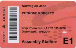 Carte De Croisière : NCL Norwegian Cruise Line : Norwegian Jade 2011 - Autres Collections