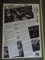 1935 M SALON DE L AUTOMOBILE - Vieux Papiers