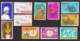 Année  Internationnale Des Droits De L'homme ; Année Inter De La Femme ; Batiment De L'U.P.U , Et Centenaire - Bahamas (1973-...)