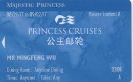 Carte De Croisière : Princess Cruises (Bilangue En Chinois) : Majestic Princess 2017 - Autres Collections