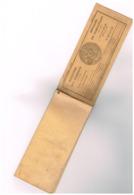 Style Carnet Chèque Ministère Pensions Retraite Combattant Talons 1937 à 44 Temps De Guerre 3 Talons Détaché Carcassonne - France