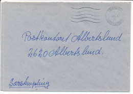 Postsag Postal Service Cover / Postmark Error Upside Down - 18 June 1995 Nordjyllands Postcenter - Danimarca