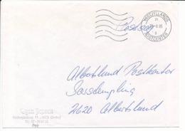 Postsag Postal Service Cover - 25 June 1995 Vestjyllands Postcenter - Danimarca
