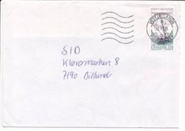 Mi 1128 Solo Commercial Cover - 12 November 1996 Vestjyllands Postcenter - Danimarca
