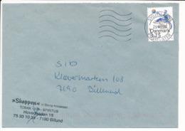 Mi 1120 Solo Commercial  Cover - 29 May 1996 Sydjyllands Postcenter - Danimarca