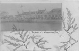 14 CPA COURSEULLES CARTE PHOTO LE BASSIN - Courseulles-sur-Mer