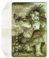 Wallis Et Futuna Telecarte Phonecard Prepaid WF27A Roi Fakavelikele Numerotee Neuve NSB BE - Wallis En Futuna