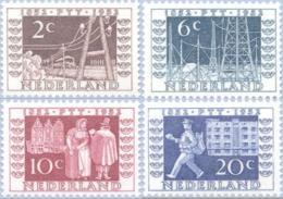 1952 Tentoonstelling NVPH 592-595 Ongestempeld/MH/* - Periode 1949-1980 (Juliana)