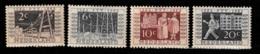 1952 Tentoonstelling NVPH 592-595 Ongestempeld - Periode 1949-1980 (Juliana)