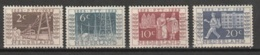 1952 Tentoonstelling NVPH 592-595 Gestempeld - Periode 1949-1980 (Juliana)