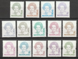 1991-2001 Beatrix NVPH 1488-1501 En 1581+1582 Postfris/MNH/** - Periode 1980-... (Beatrix)