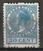 1925 Tweezijdige Roltanding 20 Ct Zonder Watermerk NVPH R13 - Postzegelboekjes En Roltandingzegels