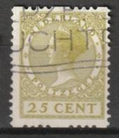 1925 Tweezijdige Roltanding 25 Ct Zonder Watermerk NVPH R14 - Postzegelboekjes En Roltandingzegels