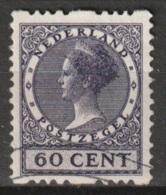 1925 Tweezijdige Roltanding 60 Ct Zonder Watermerk NVPH R18 - Postzegelboekjes En Roltandingzegels
