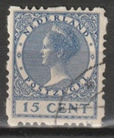 1928 Vierzijdige Roltanding 15ct NVPH R48 Gestempeld - Postzegelboekjes En Roltandingzegels