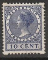 1930 Tweezijdige Hoekroltanding 10ct NVPH R66 Gestempeld - Postzegelboekjes En Roltandingzegels