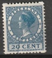 1930 Tweezijdige Hoekroltanding 20ct NVPH R67 Gestempeld - Postzegelboekjes En Roltandingzegels